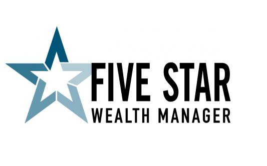 Five Star Wealth Manager award logo